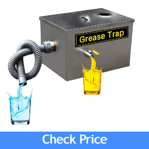 AnEssOil Stainless Steel Grease Trap