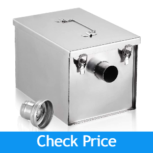 WeChef Commercial Stainless Steel Grease Trap