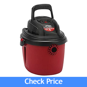 Shop-Vac 2.5 Gallon 2.5 Peak HP Wet/Dry Vacuum