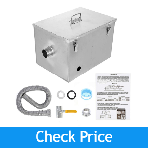 BEAMNOVA 8lbs Commercial Grease Trap